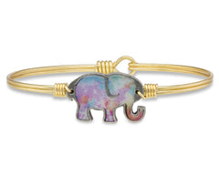 Tie Dye Elephant Bangle - Luca + Danni
