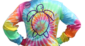 Simply Southern Logo Tie Dye Long Sleeve T-Shirt
