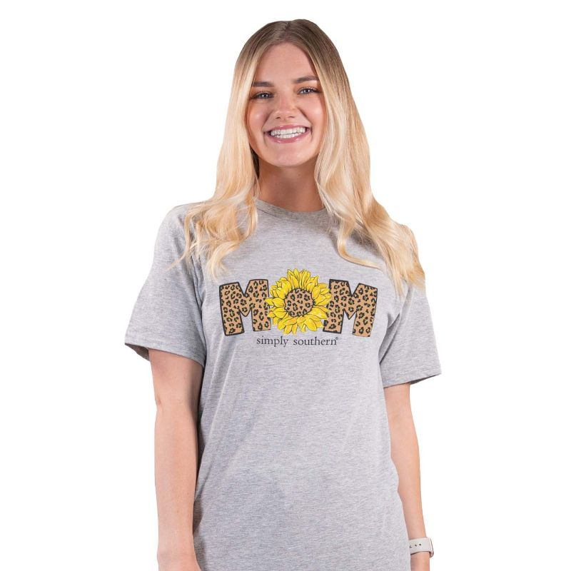Simply Southern Mom Sunflower Tee