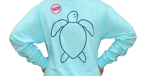 Simply Southern Vintage Logo Turtle Long Sleeve T-Shirt