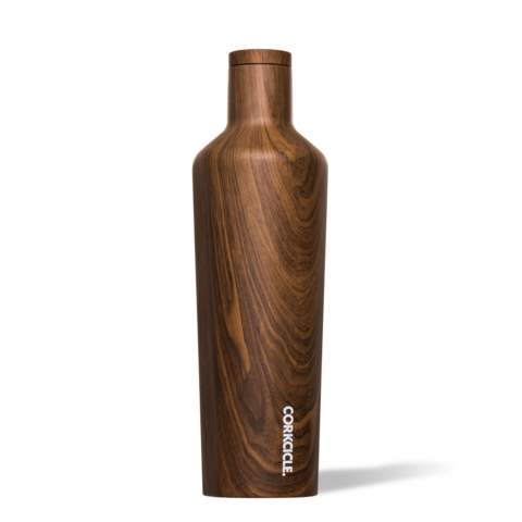 Walnut Wood 25oz Corkcicle Canteen
