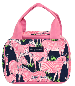 Simply Southern Zebra Lunch Bag