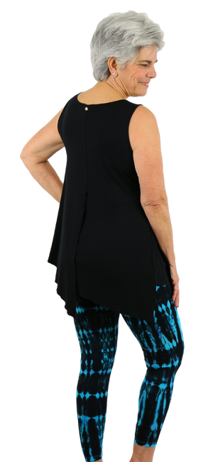 Zen Knits Black Tunic