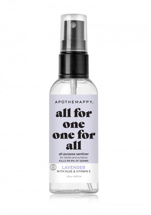 Apothehappy Hand Sanitizer Spray-Lavender