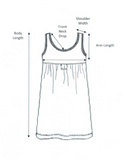 iCantoo Babydoll Dress Size Chart