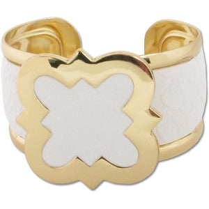 Lindsay Phillips Carly White Cuff