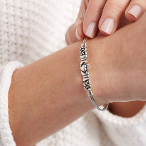 Claddagh Bangle - Luca + Danni