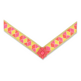 Lindsay Phillips Pink and Yellow Collins Strap