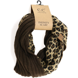 Double Scarf-Leopard and Brown