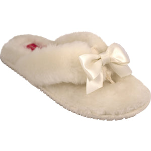 Lindsay Phillips Cream Kat Slippers