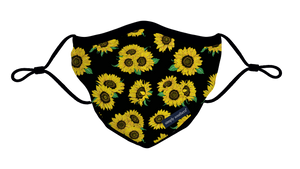 Simply Southern Sunflower Adult Face Mask