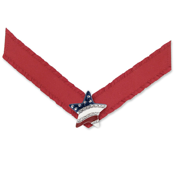 Lindsay Phillips Red American Flag Liberty Strap