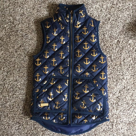 Simply Southern Navy Anchor Vest