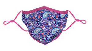 Simply Southern Paisley Youth Face Mask