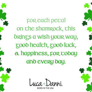 Shamrock Bangle - Luca + Danni