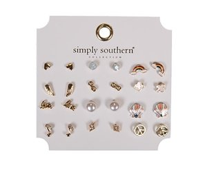 Simply Southern Earring Set-Rainbow