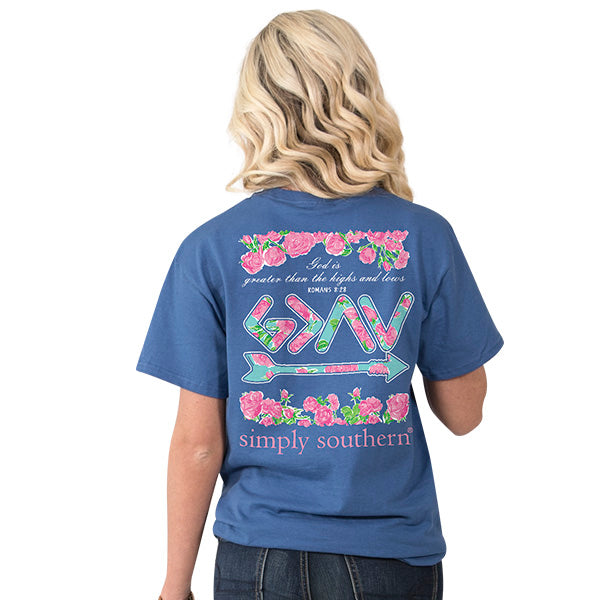 Simply Southern Preppy Romans T-shirt