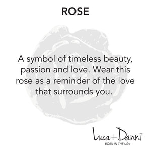 Rose Bangle Luca + Danni meaning card