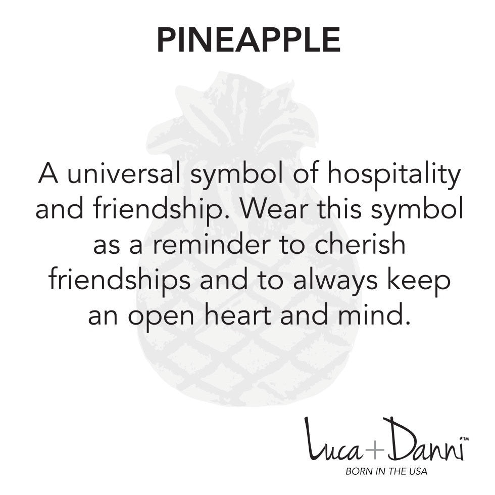 Nature Bangle Pineapple Luca Danni Blooming Boutique