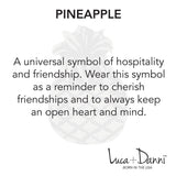 Pineapple Bangle Luc + Danni meaning card
