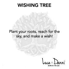 Wishing Tree Bangle Luca + Danni meaning card