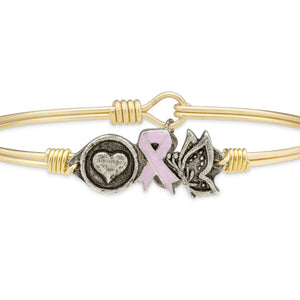 Love, Hope, Life Bangle, Luca + Danni
