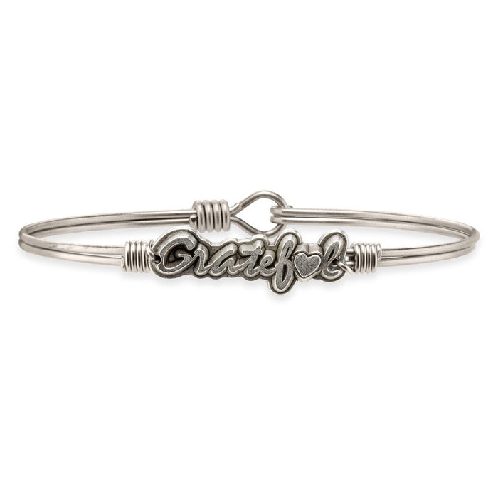 Be Grateful Bangle - Luca + Danni