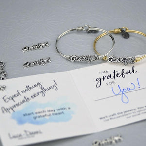 Grateful Bangle, Luca + Danni