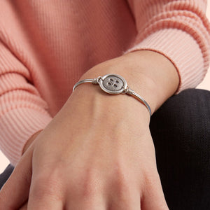 Cute as a Button Bangle - Luca + Danni
