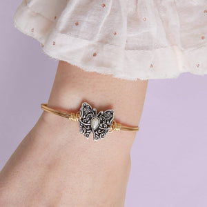 Butterfly Bangle - Luca + Danni