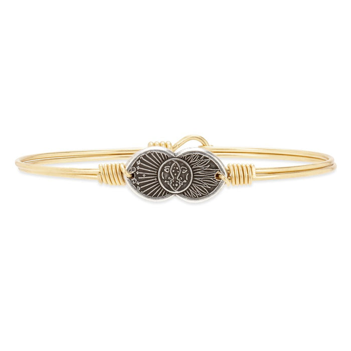 Celestial Love Bangle Bracelet - Luca + Danni