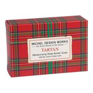 Michel Design Works Tartan Bar Soap