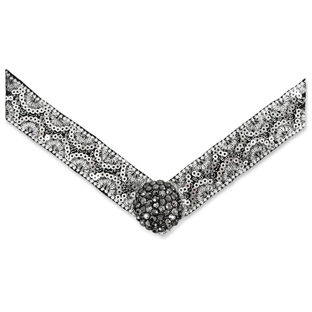 Lindsay Phillips Black and White Tasha Strap