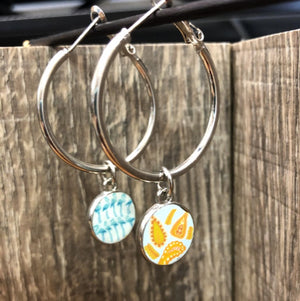 Jilzarah Sea Shore Hoop Earrings