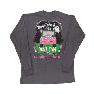 Simply Southern Mountains Long Sleeve T-Shirt Back