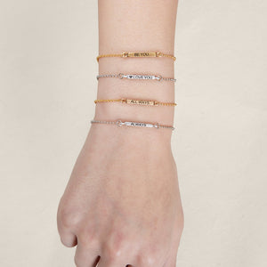 You are the Page Slider Bracelet - Luca + Danni