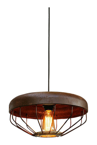 Chicken Feeder Light Fixture Industrial Pendant Light