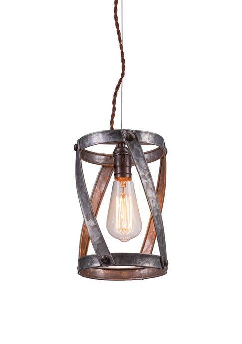 Pendant Lighting - Farmhouse Industrial Style Pendant Light Fixture