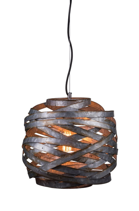 Pendant Lighting - Industrial Cage Chandelier