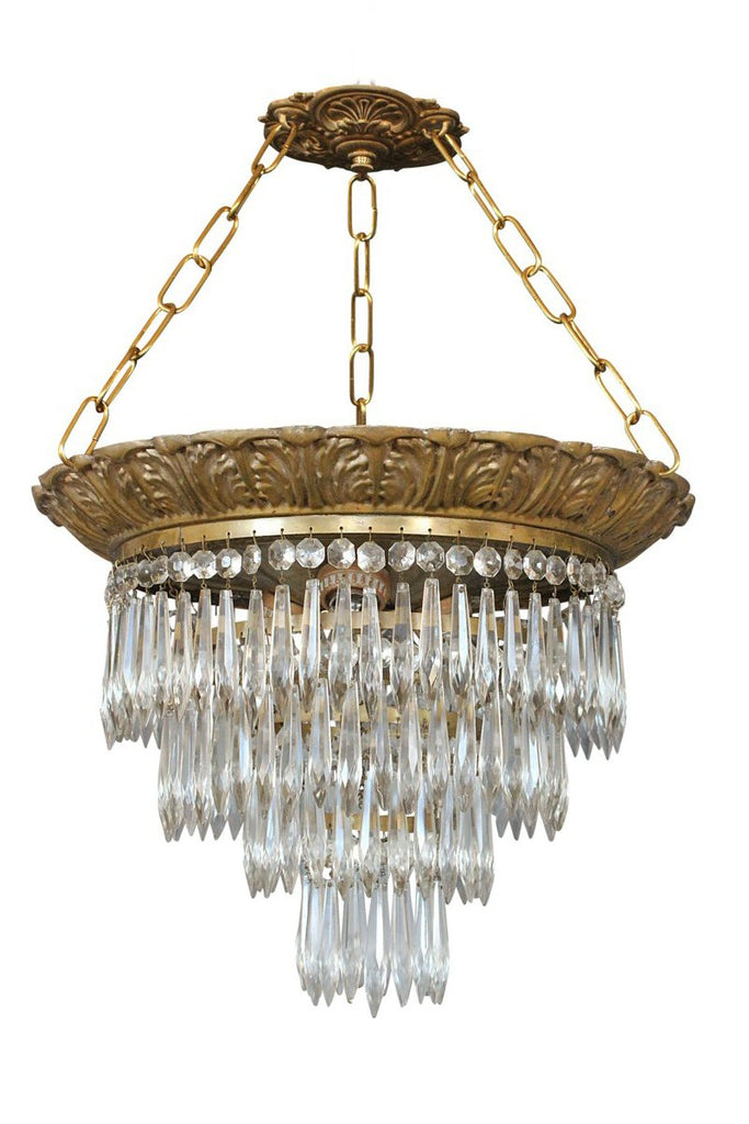 Vintage Empire Chandelier - Semi Flush