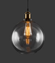 Glass Pendant Globe Light