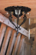 flush-mount-antique-light-v190