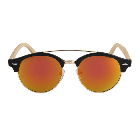 Larch Sunglasses (Gold Mirrored)