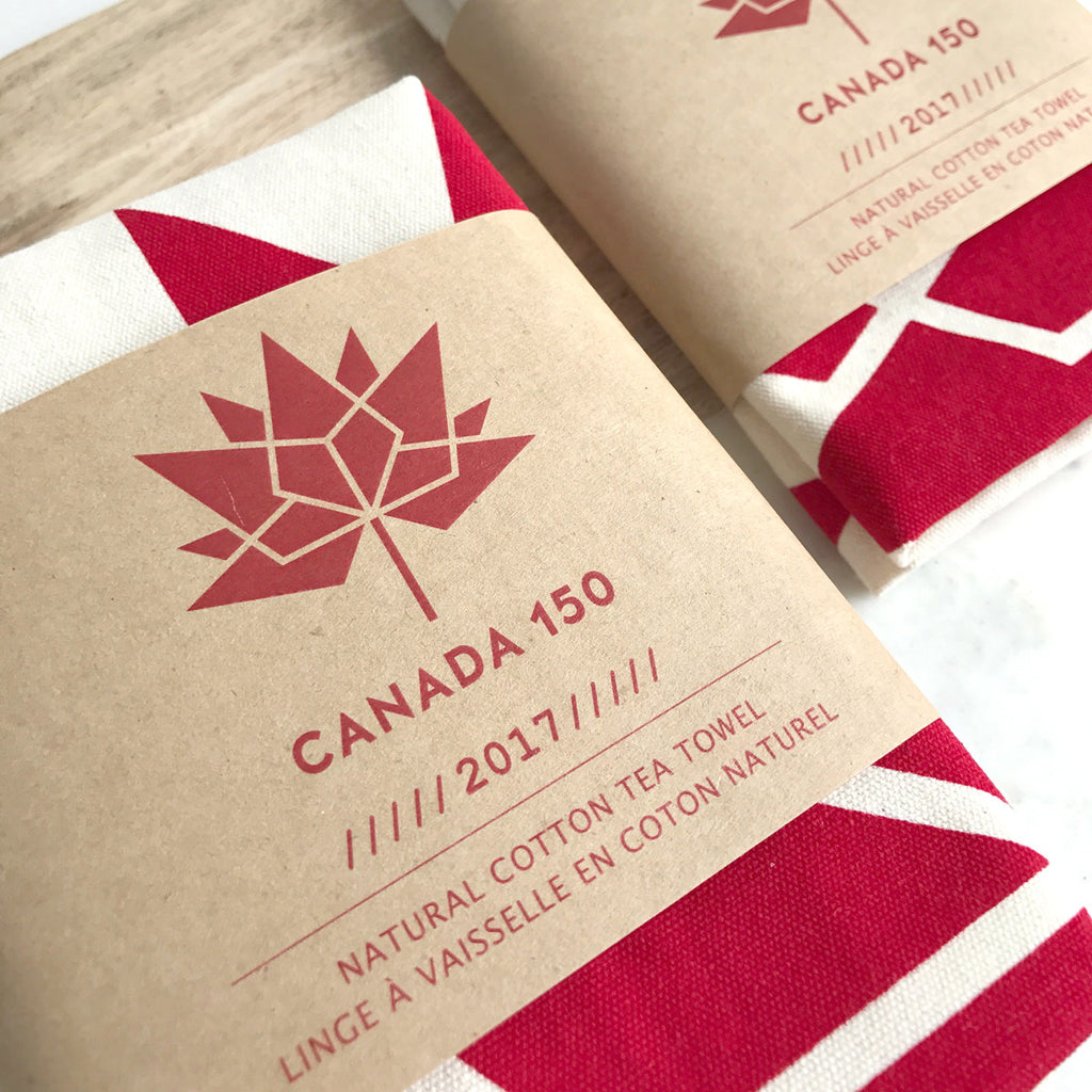 Canada 150 tea towel (SOLD OUT!) – Lifestyle Market
