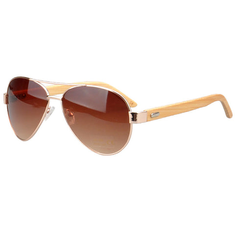 Jacaranda Aviator Sunglasses (Tan)