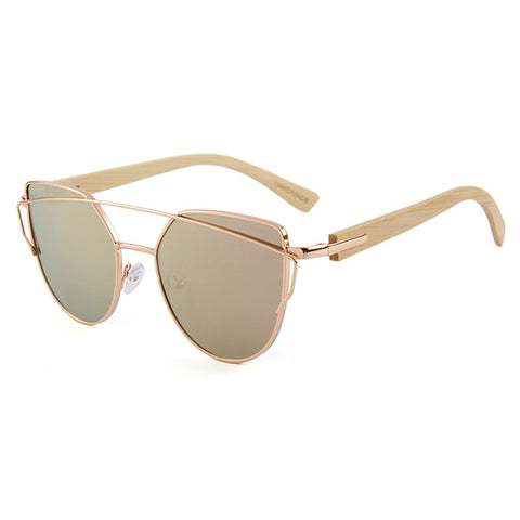 Olive Sunglasses (Rose Gold)