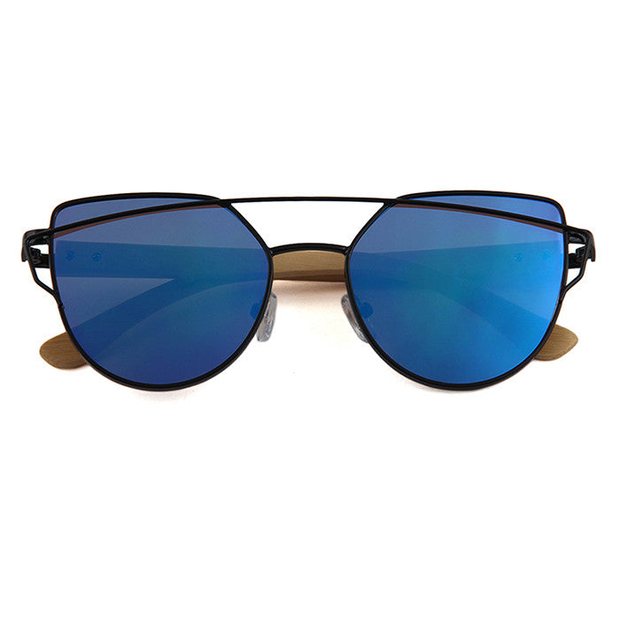Olive Sunglasses (Blue)