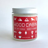 Canadiana candle - 4 oz. Wood Cabin