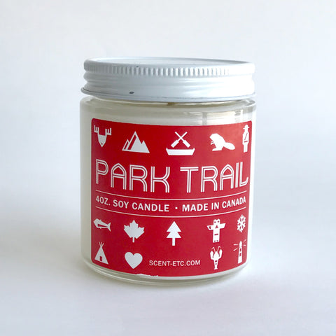 Canadiana candle - 4 oz. Park Trail