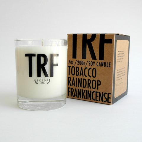 TRF eco-soy candle (Custom order only)